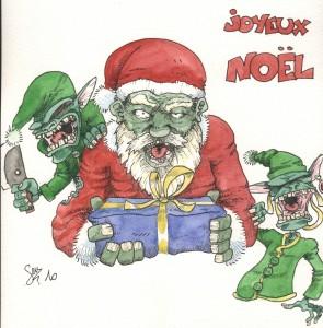 Joyeux Noel zombie