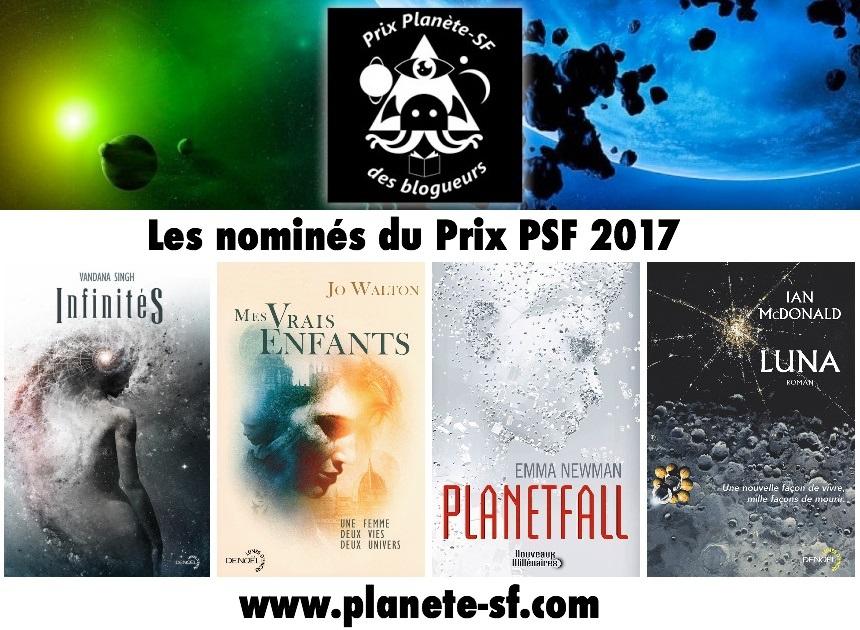 shortlist nominés prix planète-SF 2017
